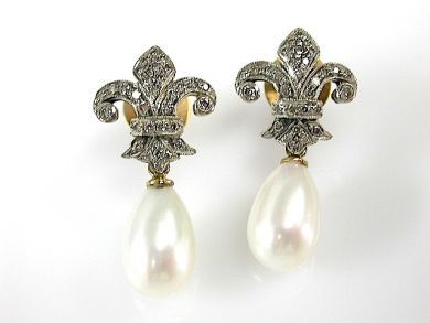 71597-May/Pearl Earrings CFA1305368