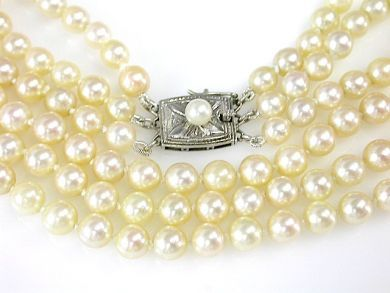 71597-May/Pearl Necklace CFA1305366