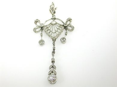 71597-May/Vintage Diamond Pendant CFA1305348