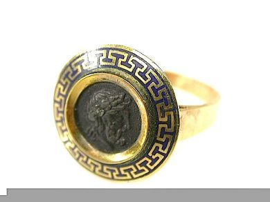 71678-May/Enamel Signate Ring CFA1305211