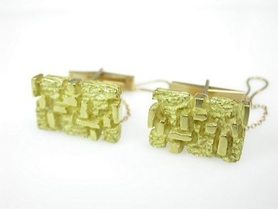 71678-May/Gold Nugget Cufflinks CFA1305146