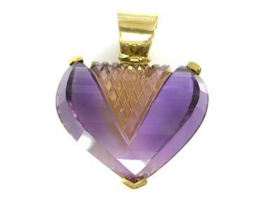 71741-June/Amethyst Heart CFA1306122