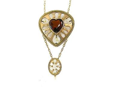 71741-June/Antique Heart Pendant CFA1305242