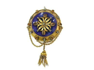 71741-June/Victorian Tassel Brooch CFA1305220
