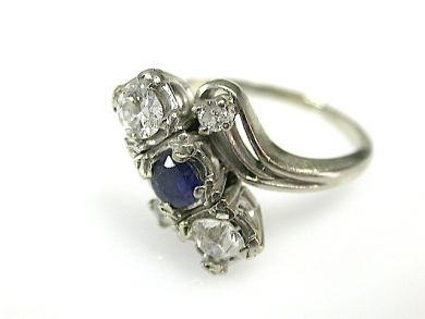 71763-June/Sapphire and Diamond Ring CFA1305322