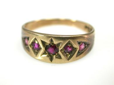 71783-July/Antique Ruby Ring CFA1306227