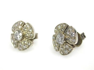 71783-July/Diamond Earrings CFA1306165