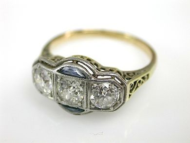 71783-July/Diamond Filigree Ring CFA1305320