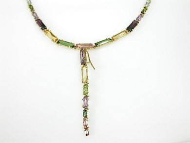 71783-July/Multistone Necklace CFA1304126