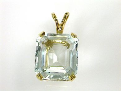 71840-July/Aquamarine Pendant CFA1304248