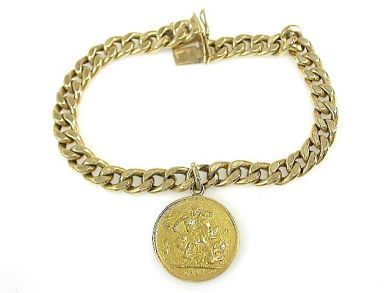 71840-July/Bracelet with Sovereign Charm CFA1306278