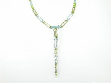 71840-July/Mixed Stone Necklace CFA1306297
