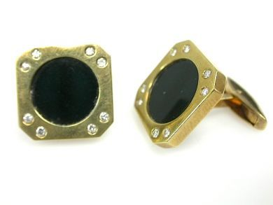 71840-July/Onyx Cufflinks CFA1306315