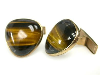 71840-July/Tiger Eye Cufflinks CFA1306309