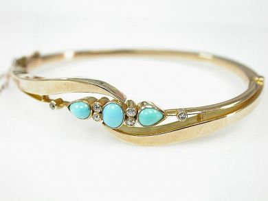 71840-July/Turquoise Bangle CFA1306282