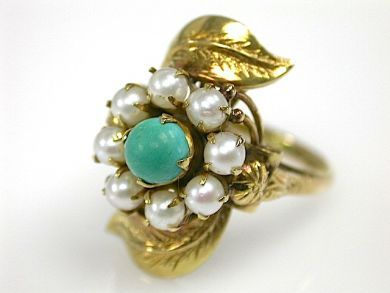71840-July/Turquoise Ring CFA1304237