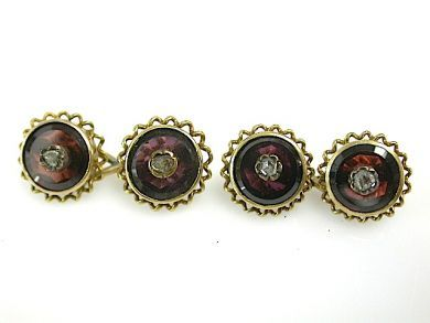 71906-July/Garnet Cufflinks CFA130721