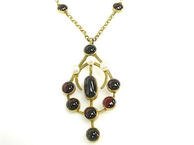 71989-July/Garnet Pendant CFA1307107