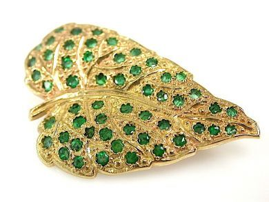 72056-July/Emerald Brooch CFA1307190