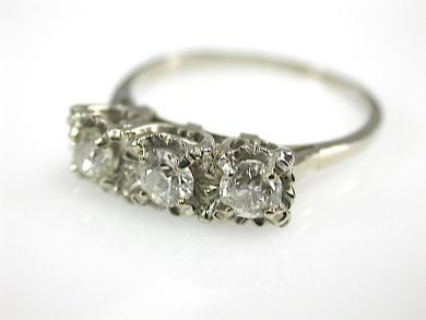 72056-July/Three Stone Diamond Ring CFA1307188