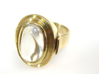 73100-September/Moonstone Ring CFA130899