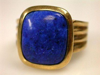 73156-September/Lapis Lazuli Rings CFA1201127