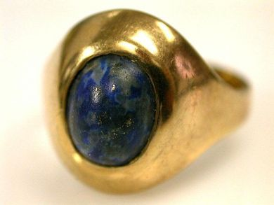 73156-September/Lapis Ring CFA1201128