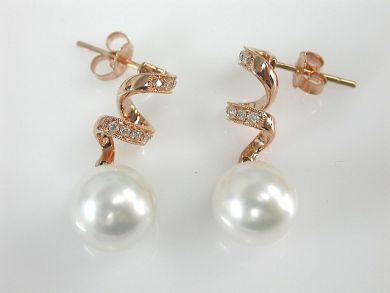 73156-September/Rose Gold Earrings CFA1308174