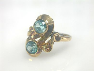 73156-catching up/Blue Topaz Ring CFA1308240