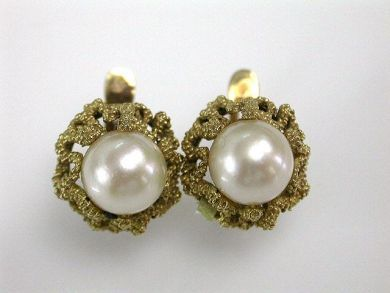 73156-catching up/Pearl Earrings CFA1208118