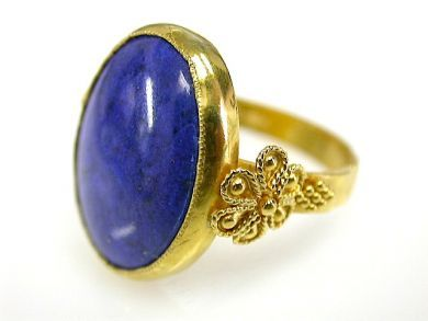 73276-September/Lapis Lazuli Ring CFA130955