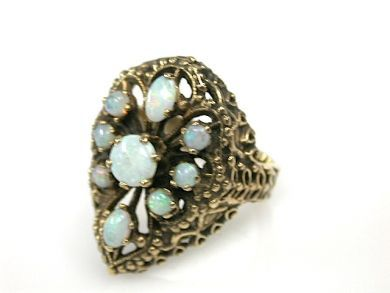 73276-September/Vintage Opal Ring CFA130984
