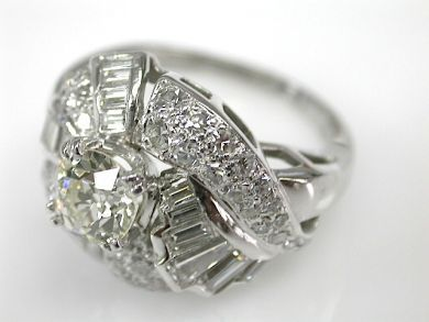 73302-September/Diamond Cluster Ring CFA1309156