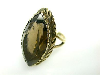 73362-October/Smokey Quartz Ring CFA1307244