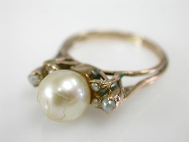 73382-October/Pearl Ring CFA1309305