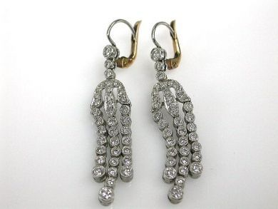 A69702-June/Diamond Drop Earrings CFA121218