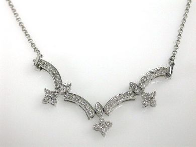 A69702-June/Diamond Necklace CFA121206