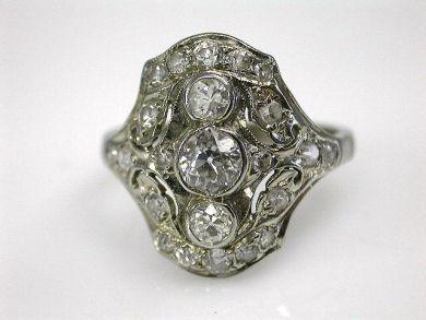 A69702-June/Edwardian Diamond Ring CFA1203183