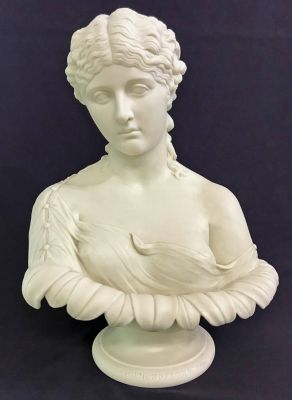 A Copeland Attributed Parian Bust Of Clytie 7