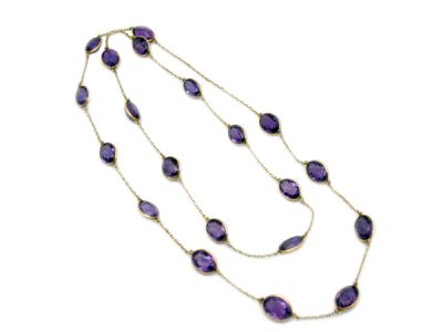 Amethyst Jewellery/Sophisticated Amethyst-By-The-Yard 1 Cynthia Findlay Antiques