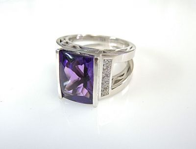 Amethyst Ring CFA1407117