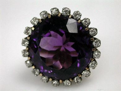 Amethyst Ring Cynthia Findlay Antiques CFA120590