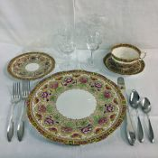 Royal Albert/Crown Bone China Court Pattern
