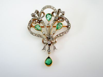 Antique-Emerald-and-Diamond-Brooch-Pendant-CFA1510129-80238