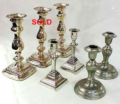 Antique-and-Vintage-Sterling-Silver-Candlesticlks a