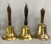 Antique Brass School Bells
