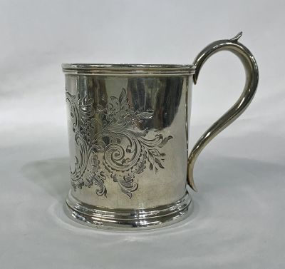 Antique Canadian Christening Cup
