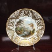 Antique Derby Cabinet Plate