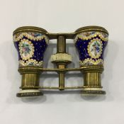 Opera Glasses French Enamel