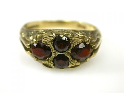 Antique Garnet Ring CFA1311322